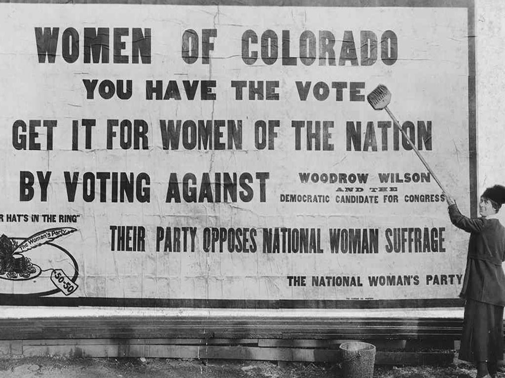 Colorado First to Give Women the Right to Vote