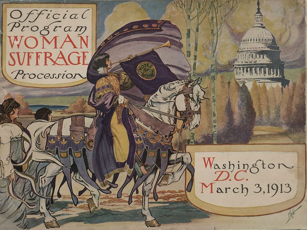 The Congressional Union for Woman Suffrage is Formed