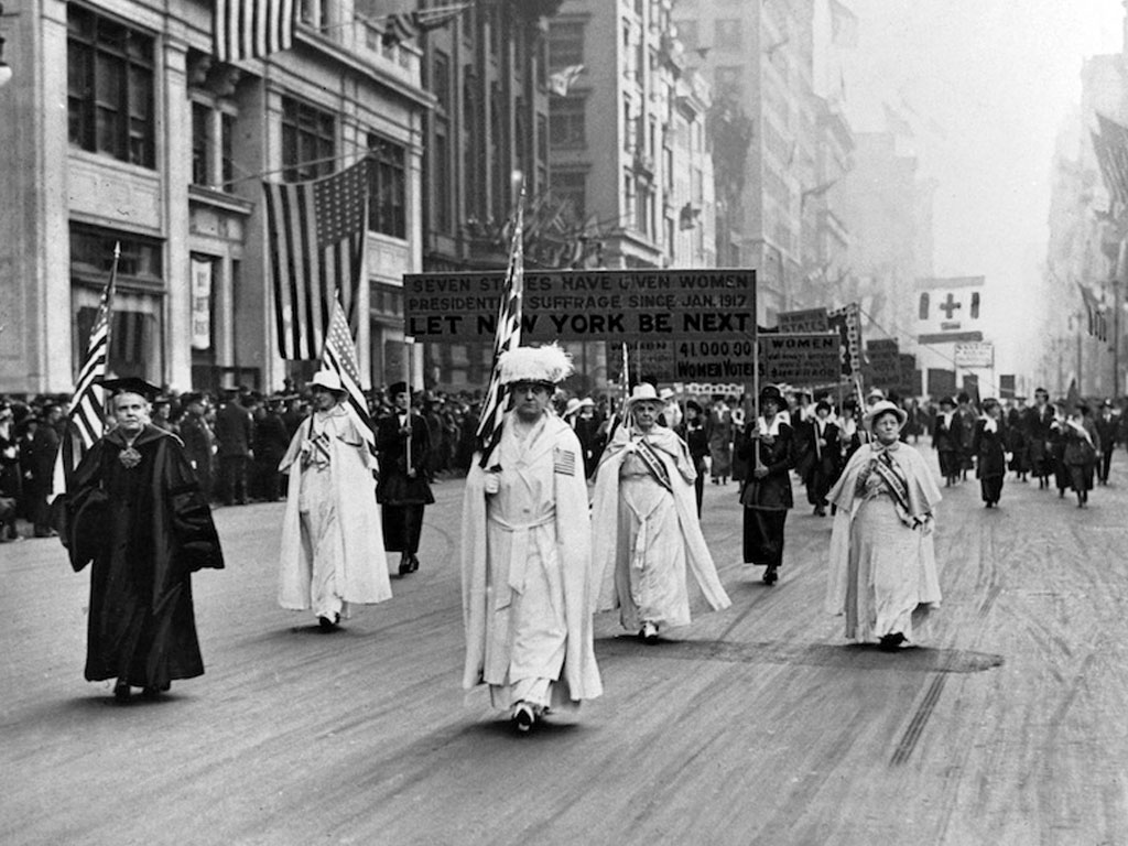 First Women's Parade in New York City