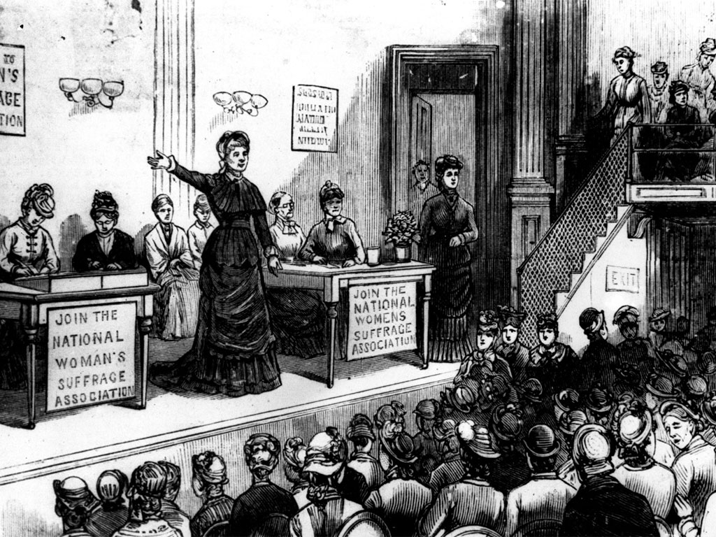 Split among the Suffragist Movement over the 15th Amendment