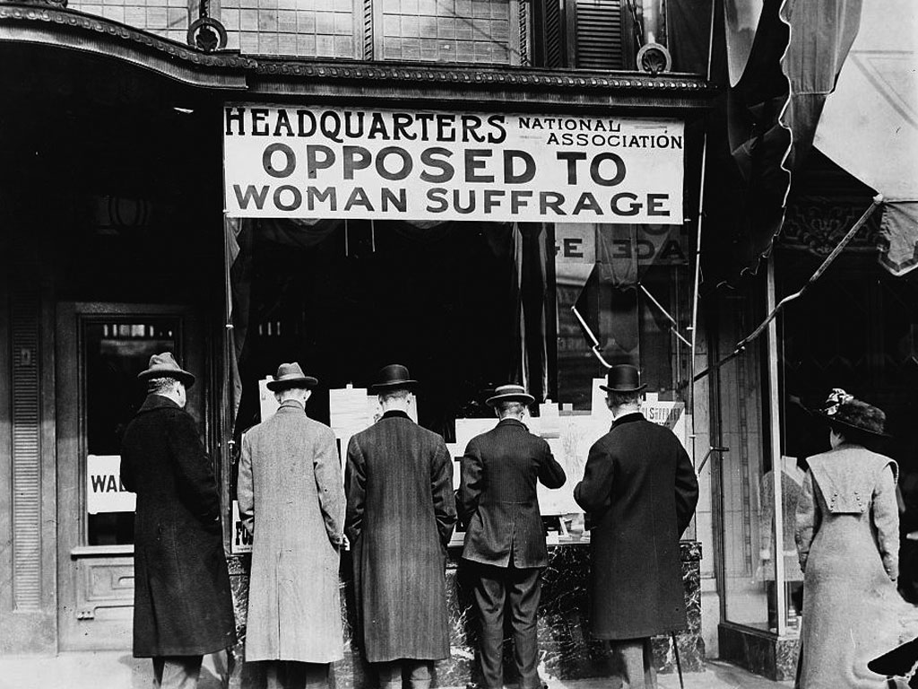 The National Association Opposed to Woman Suffrage