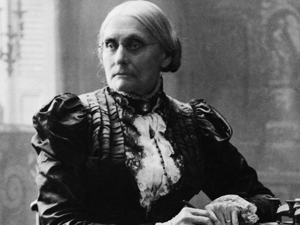Susan B. Anthony Arrested for Casting a Vote